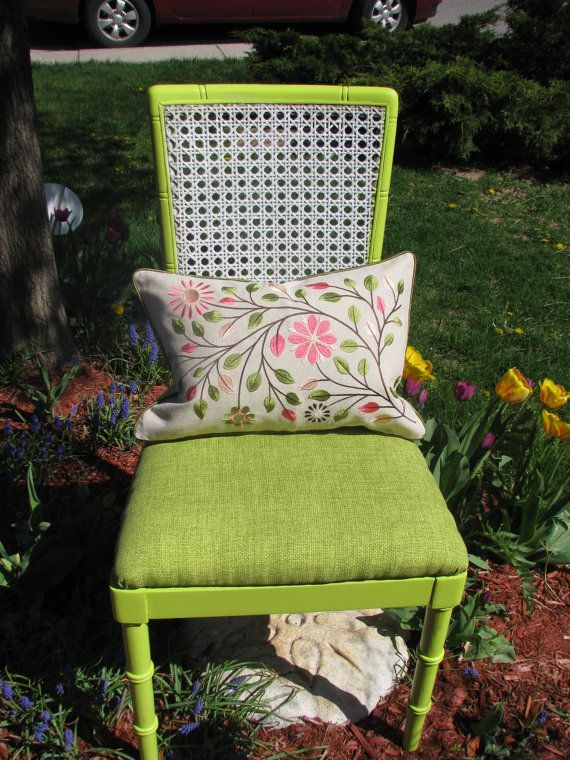 the Lindy cane back chair
