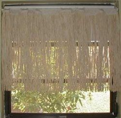 Amazon.com - Dean Miller Surf Bedding Raffia Window Valance by Dean Miller - Window Treatment Valances