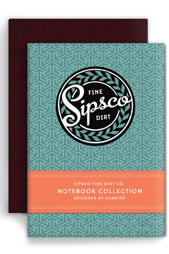 SIPSCO - Notebook Collection  by GAMETEE £ 5.99  :'D