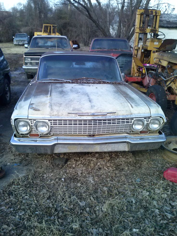 102 best Impalas/Caprices in the Junk yards images on Pinterest ...