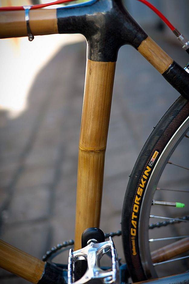Bamboo Bikes. Handcrafted in Indonesia