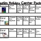 Teaching kids about the important holidays of Islam?  This packet does most of the work - no assembly, just print and staple. - FREE