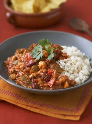 Recette : Chili végétarien