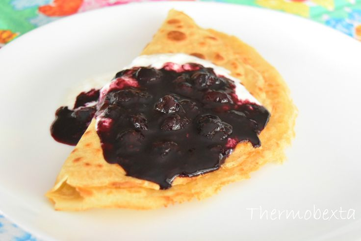 Thermobexta's Fast Blueberry Sauce