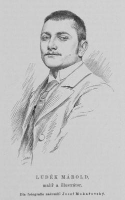 Luděk Alois Marold *1865 Praha-Malá Strana - 1898 Královské Vinohrady) byl českým malířem a ilustrátorem, který vytvořil panorama Bitva u Lipan. Luděk Marold (kreslil Josef Mukařovský, 1892)