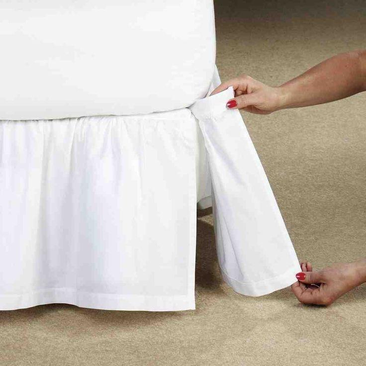 Adjustable Bed Skirt King
