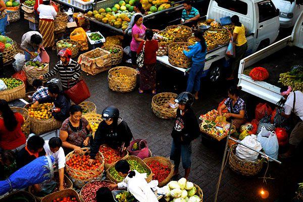 Ubud Wet Market