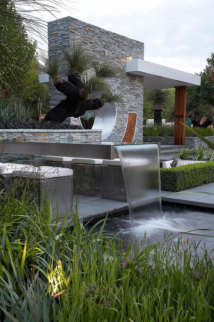 Rolling stone landscapes - Chelsea Flower Show Gold Medal Winner Australia Show Gardens Landscaping Project Rolling Stone