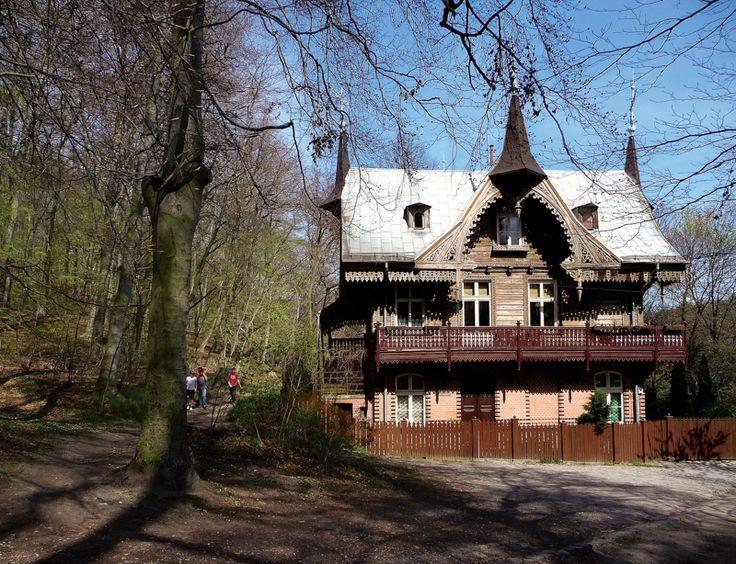 Leśniczówka w Jaśkowej Dolinie (Gdańsk Wrzeszcz).