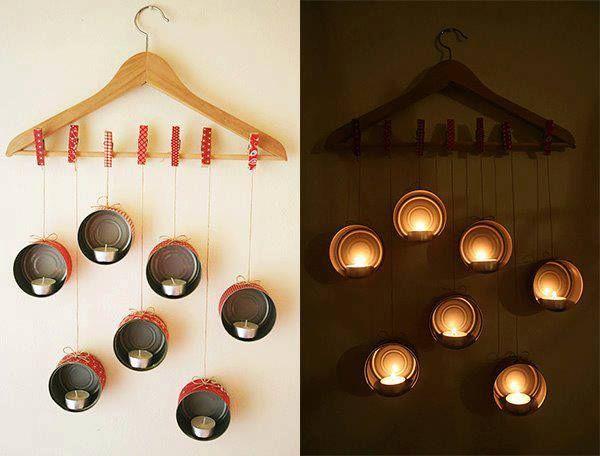 Iluminen su hogar o una velada muy especial #manualidades #creatividad #decoración