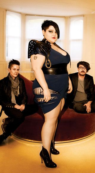 The talented and fabulous Beth Ditto.