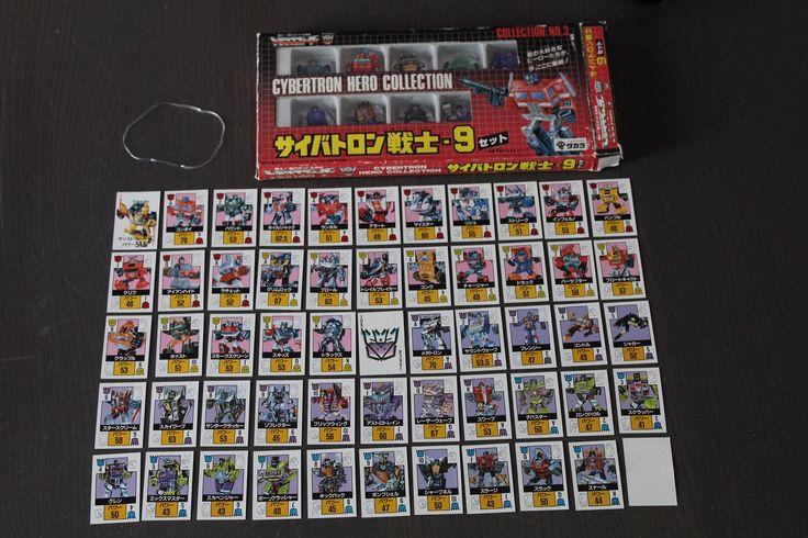 Set Carte Cybertron Hero Collection no.3 Oggi parliamo del mazzo di carte contenuto nel gioco da tavolo uscito solo per il mercato giapponese chiamato Cybertron Hero Collection.