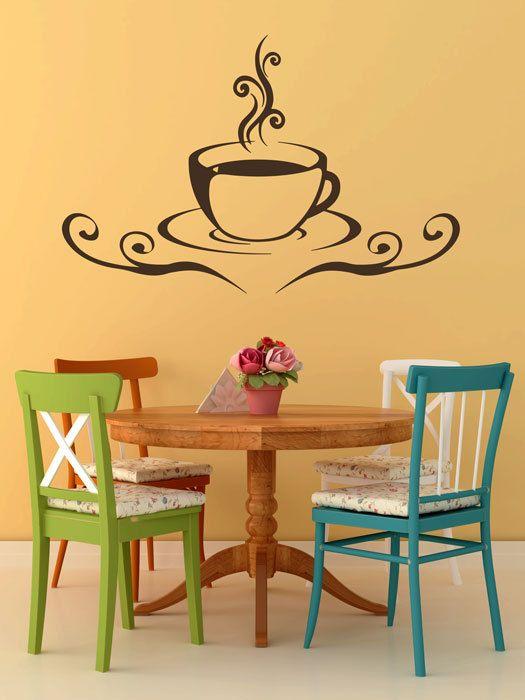 Taza de café con decoración de la etiqueta por OverlyAttachedDecals