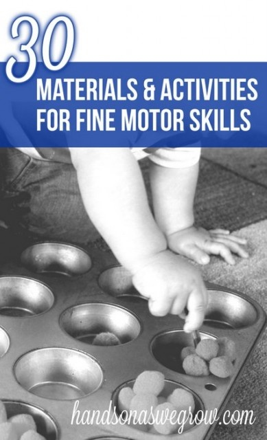 30 Materials Activities to Promote Fine Motor Skills. This is an absolute