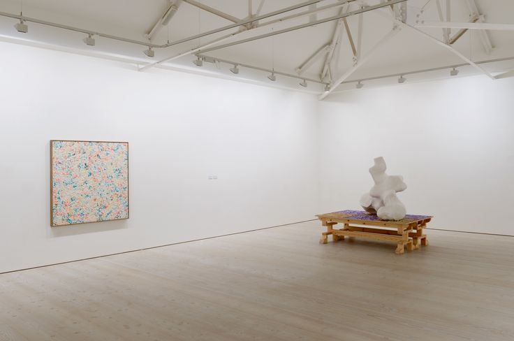 New Order II: British Art Today installation view