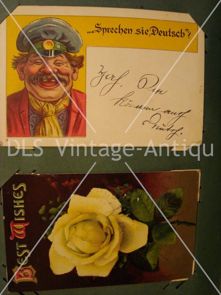 Vintage Postcard Album 53