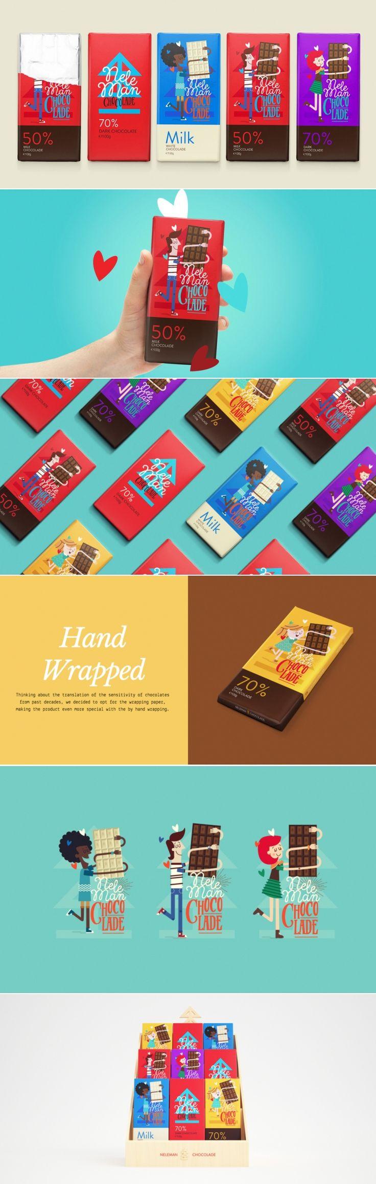 Neleman's Chocolade Bar — The Dieline   Packaging & Branding Design & Innovation News
