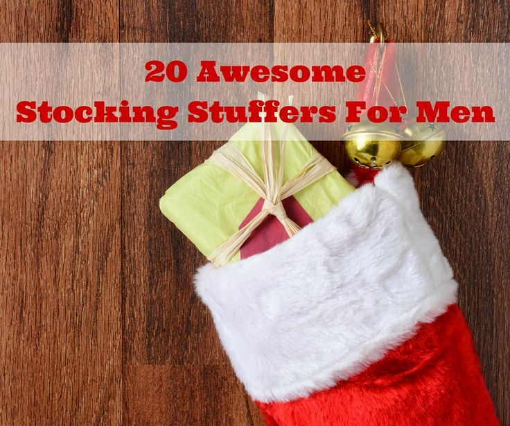 20 Awesome Stocking Stuffers For Men! AD