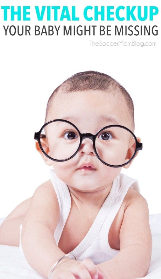 We had no idea that our baby should have gotten an infant eye assessment in her first year! Why it's so important and how your child can see an optometrist FREE. #ad