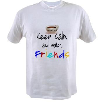 Keep Calm friendstv Value T-shirt I Love Friends inspired by the opening of  the