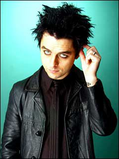 Billie Joe Armstrong of Green Day- Vegetarian