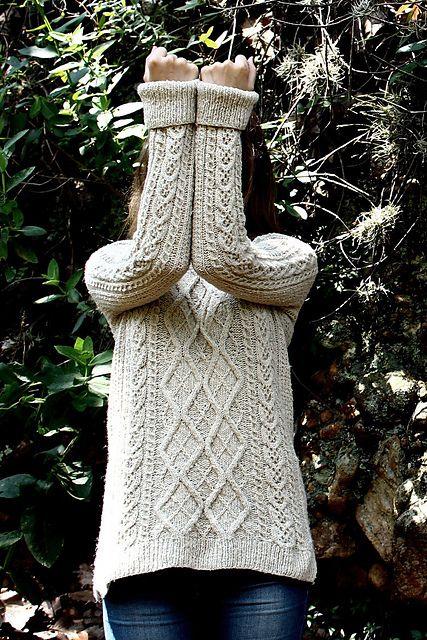 Tricot : patrons de modèles de pulls irlandais pour femme (2)