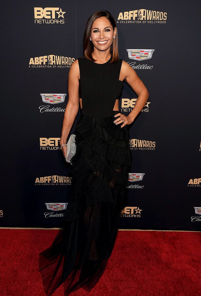 """soph-okonedo: """"  Salli Richardson-Whitfield attends the 2016 ABFF Awards: A Celebration Of Hollywood at The Beverly Hilton Hotel on February 21, 2016 in Beverly Hills, California """" Yaasss, queen Salli."""