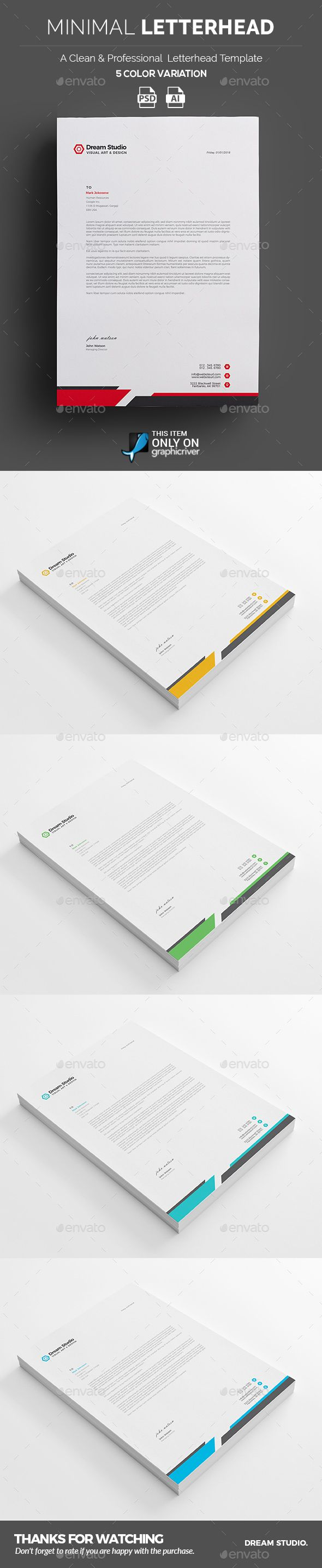 Professional Letterhead Templates Pleasing 232 Best Letterhead Design Images On Pinterest  Print Templates .