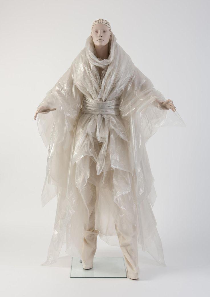 Iridescent layered plastic ensemble, Gareth Pugh. Chosen as Dress of the Year 2014 by Katie Grand