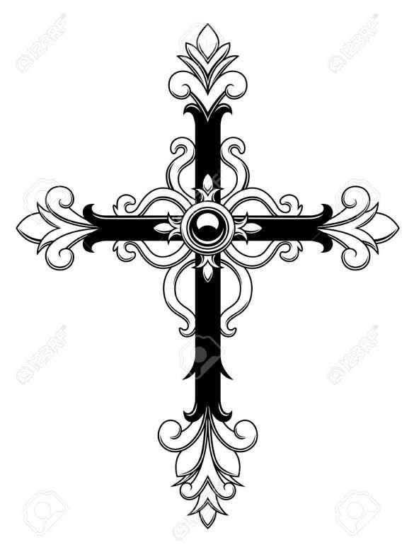 18 Decorative Cross Vector Cross Vector Crosses Decor Christian Symbols