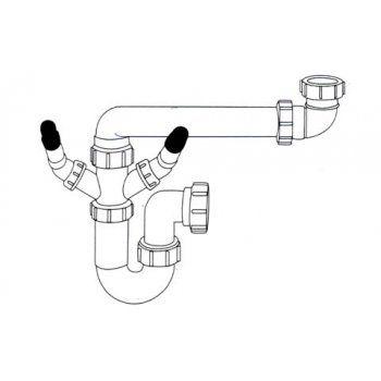 Caple CPK100 1 Bowl Plumbing Kit for Butler Sink £16.67