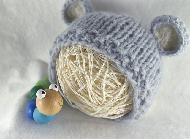 Ravelry: The Baby Bear Hat pattern by kyah bronte