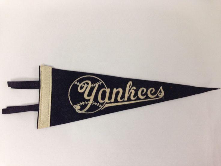 Vintage Raro New York Yankees mini fieltro de béisbol banderín 5 X 14 pulgadas. | Memorabilia de deporte, tarjetas, fans, Memorabilia de deportes antigua, Banderines, banderas | eBay!