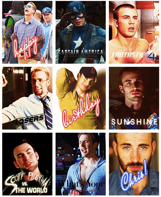 Chris Evans - I forgot he was in Scott Pilgrim!