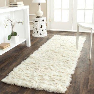 Flokati runner Flokati rugs 2x7
