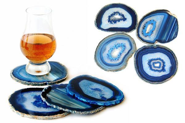 39 Best Gifts For Guys That He Will Absolutely Love - Agate Coaster - Click to read more