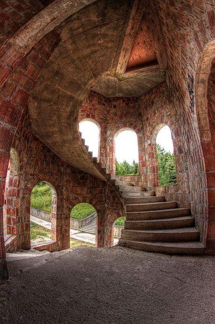 Lapalice Castle, Gdansk, Poland …