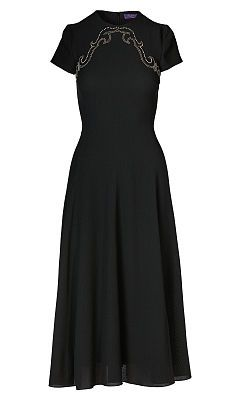 Delphine Wool Dress - Collection Apparel Midi - RalphLauren.com