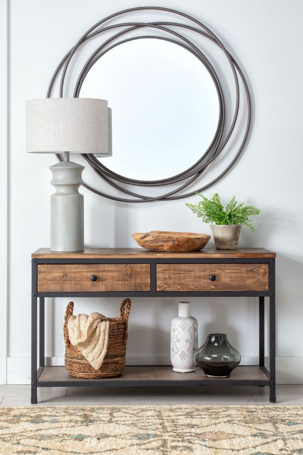 Cody Sofa Table Industrial Livingroom Console Table Decorating