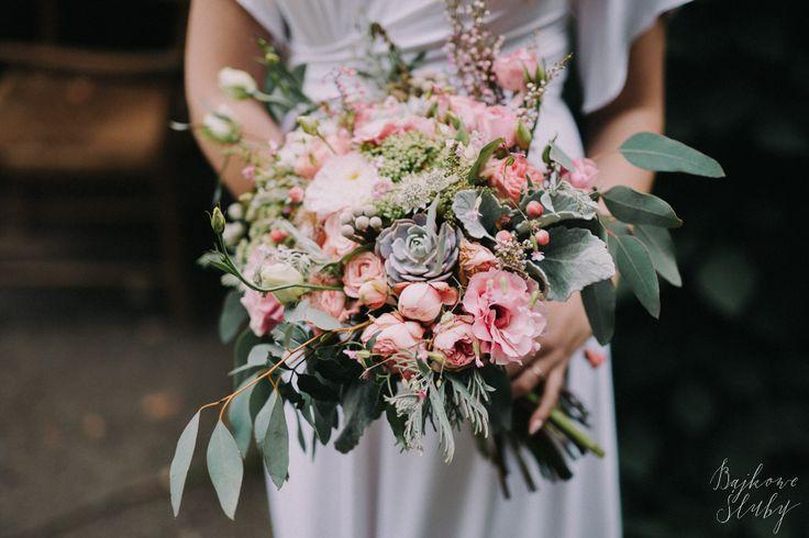 INNA Studio_bridal bouquet / fot. Bajkowe Śluby