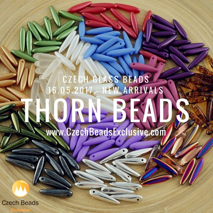 Today we gonna represent you new arrivals of Czech Glass Thorn Beads. It could be useful in any type of beaded jewelry, because this shape gives handcrafters more options in creating unusual designs to generate new ideas and interest. We at CzechBeadsExclusive have chosen for you Czech Glass Thorn Beads [...]