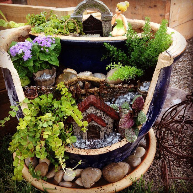 Mini Fairy Garden Ideas For Your Broken