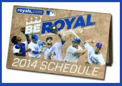 FREE 2014 KC Royals Pocket Schedule