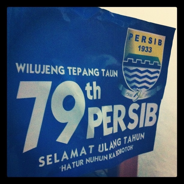 Wilujeng Tepang Taun #79 #Persib