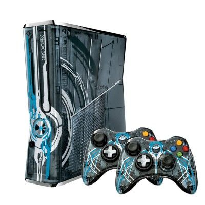 Game Console Microsoft Xbox 360 Limited Edition Halo 4 Bundle #Game Console #Xbox 360