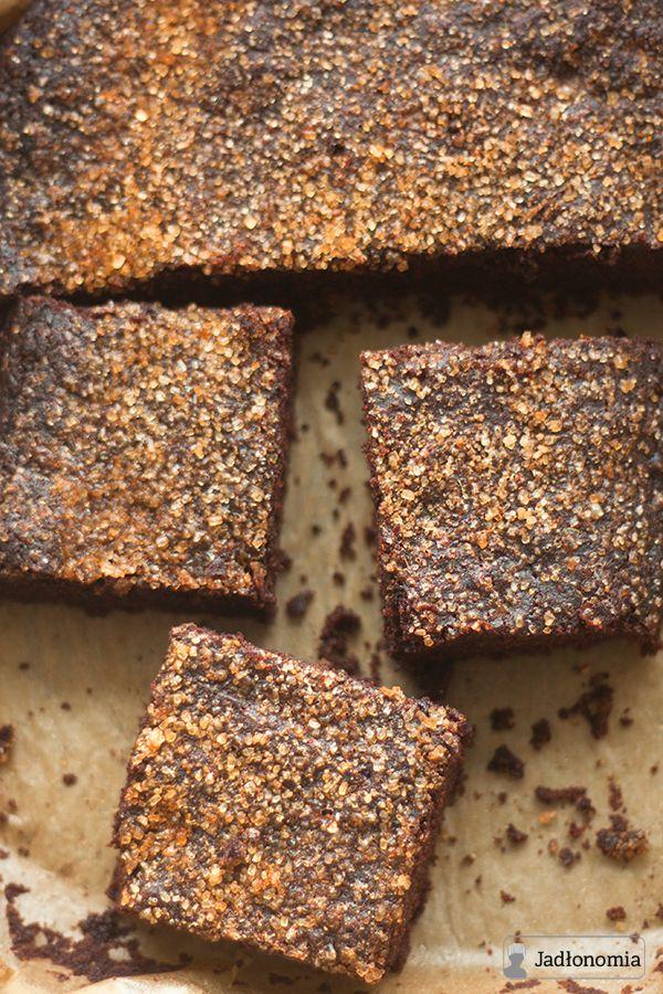 jadłonomia • roślinne przepisy: Ratunkowe czekoladowe ciasto