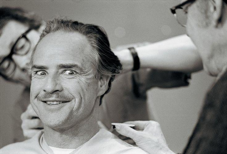 Ο Μάρλον Μπράντο προετοιμάστηκε για το ρόλο του μέσα από συναντήσεις με έναν γκάνγκστερ της οικογένειας Bufalino. Φωτό: Steve Schapiro