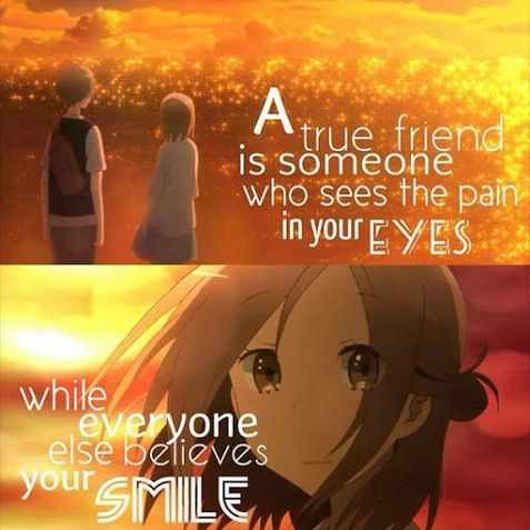 Yeah that is true... however my friends don't know how much pain I suffer since I hide it with a smile (this is true!) well it has always been like this...