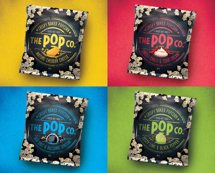 The Pop Co Popcorn Snack