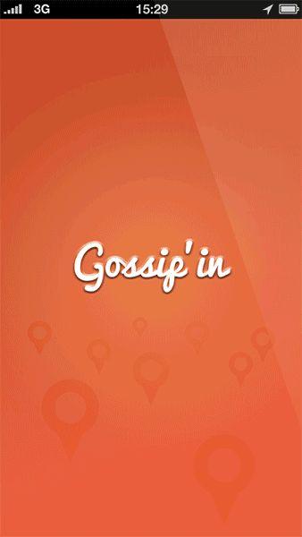 Gossip'in on Behance